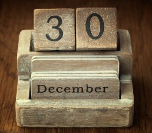 December Tax Code Deadline