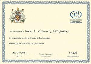 ATT Member In Practice – 2016