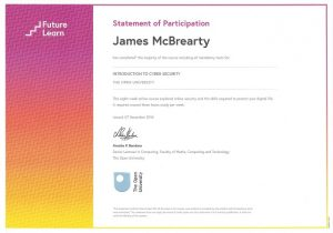 James McBrearty Cyber Security